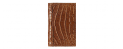 Crocodile Business Card Holder